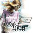 Logo for AntIQ 2000