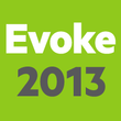 Logo for Evoke 2013