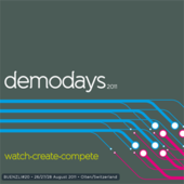 Logo for Demodays 2011 (Buenzli 20)