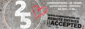 Logo for Compusphere 25 years anniversary
