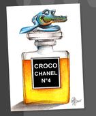 Logo for Croco Chanel #4