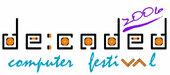 Logo for de:coded 2006