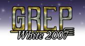 Logo for GREP White 2007